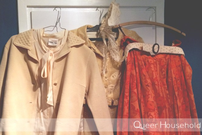 Spring Cleaning Clothes - Queer Household