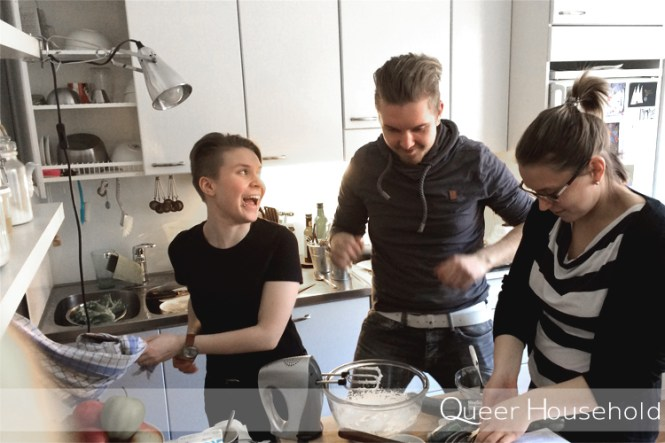Birthday and the best people - Queer Household