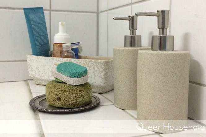 ReorganizingSmall Multipurpose Bathroom Part 2
