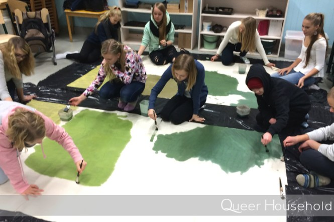 Working with kids - Queer Household