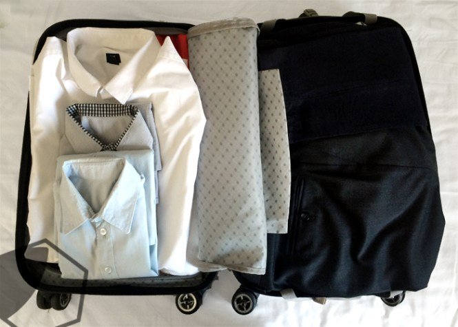How to pack a carry on for two