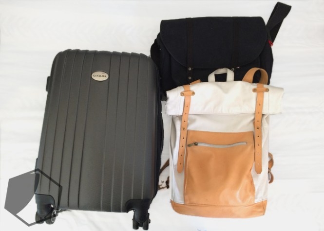 Luggage for two persons for one week in London