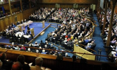 The Church of Scotland General Assembly will decide whether to ordain gay ministers.
