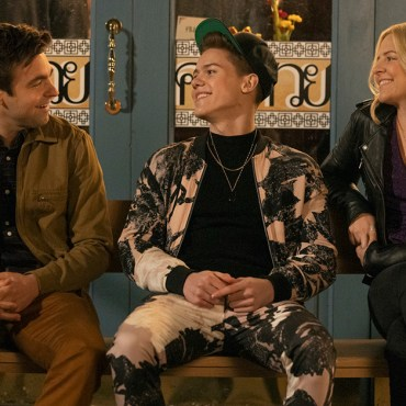 Drew Tarver, Case Walker and Helene Yorke in The Other Two