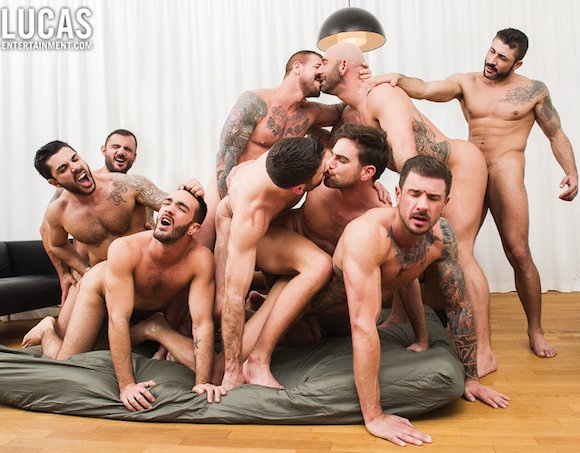 male sex orgies Service  often includes actual sexual orgies among the members as part.