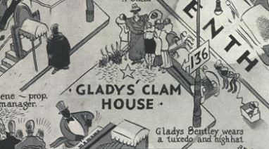 Gladys Bentley Clam House 1930s Harlem (detail)