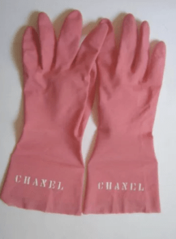 counterfeit gloves