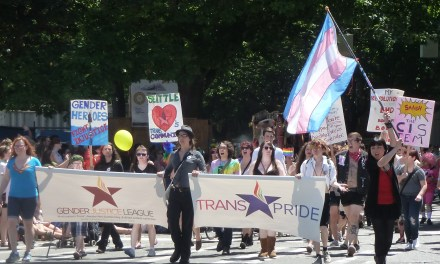 Shut Up I'm Talking: Where the Streets have no Shame, and Gender Justice League Keeps the Soul in Trans Pride!