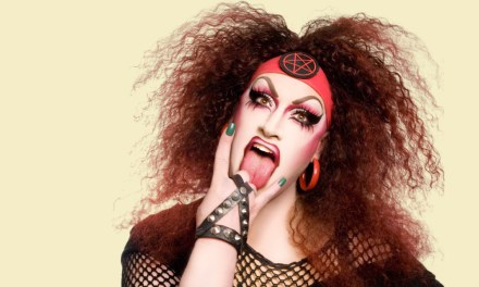 Jackie Beat and Sherry Vine Battle It Out At Le Faux