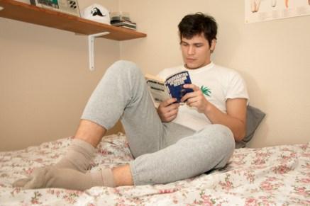 Bedroom Series: Joe. Photos by Robert Roth.
