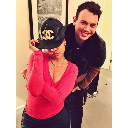 Sam and Nicki Minaj, from Sam's Instagram page.