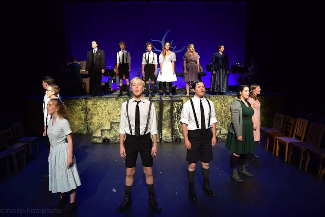The cast of Spring Awakening. Photo by Connor McIlquham.