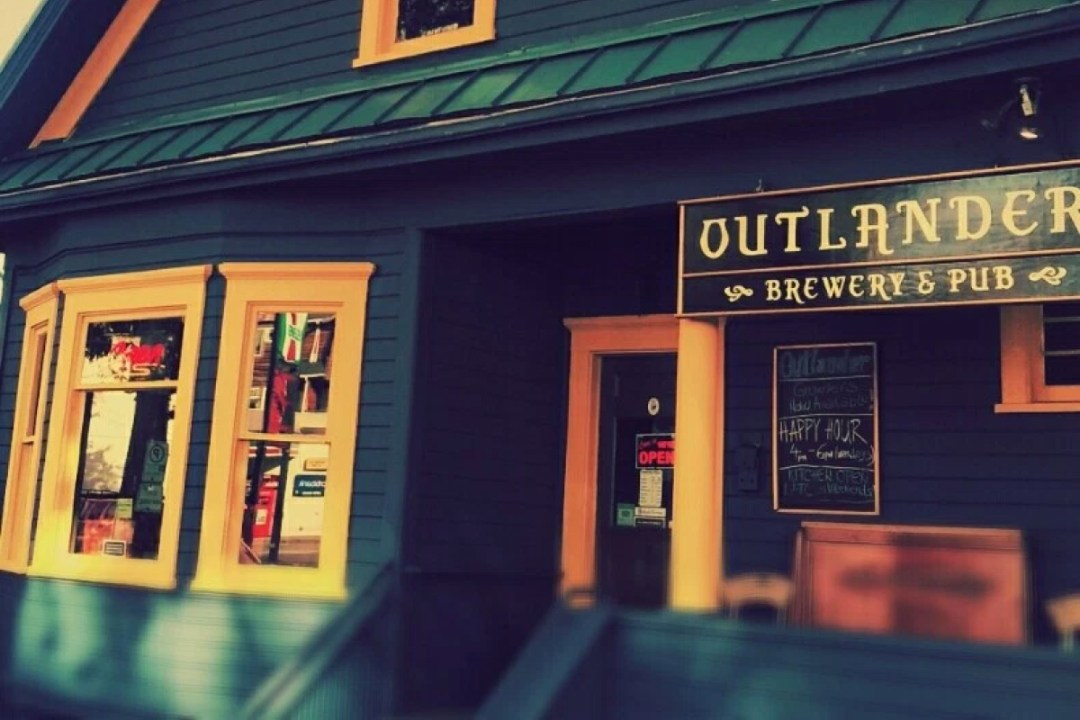The Outlander Brewery & Pub.