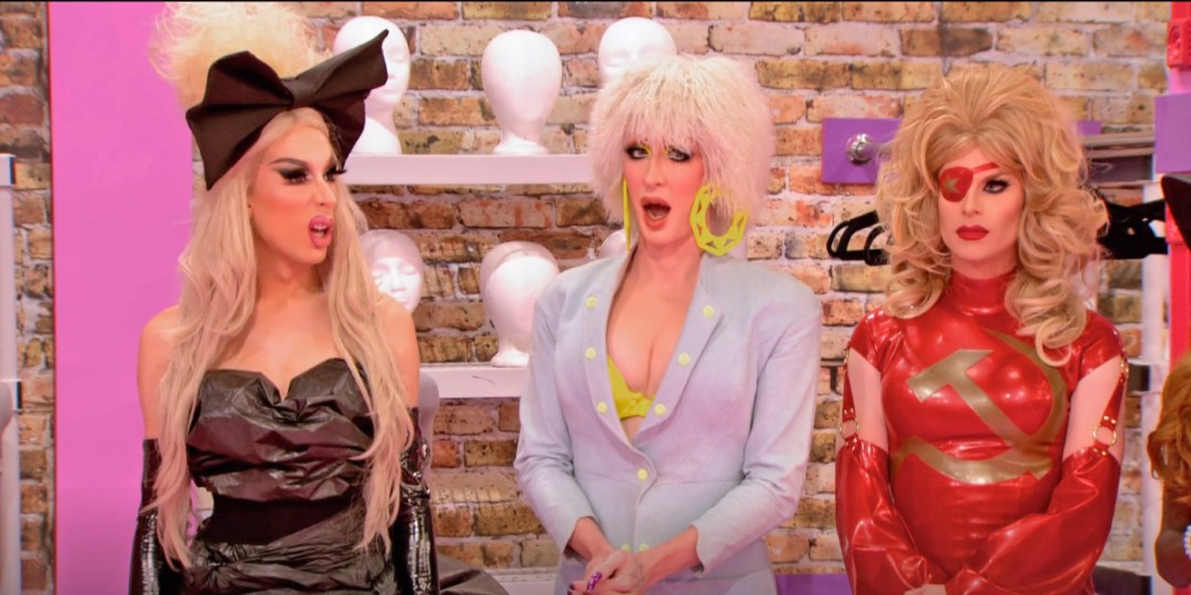 Katya's not impressed with the twist.