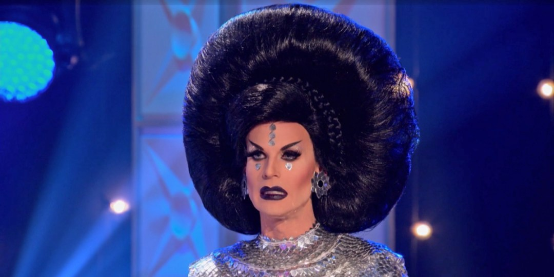 Clearly Katya's secret army of miniature drag queens was hiding in her hair all along.