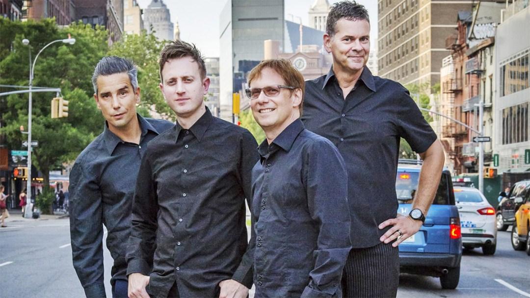 Lluis Illades, Joel Reader, Jon Ginoli and Chris Freeman are Pansy Division. Photo by Martin Meyers.