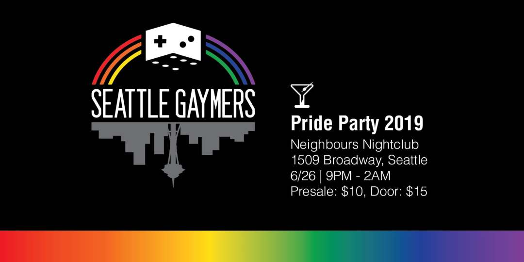 Seattle Gaymers Pride Party