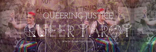 Queer Tarot Cards Justice Intersection Queer Tarot the Justice Card