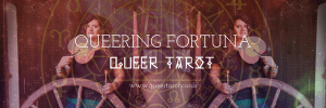 Queering the Wheel of Fortune Tarot Card version 2 Fortuna