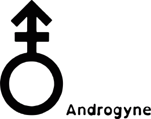 Queer Tarot: Androgyne Symbol