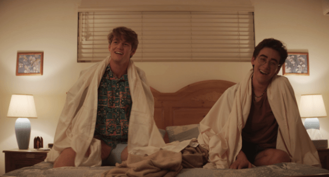 WATCH: Two high school theater students wrestle with sexual tension in ' Dramarama' / Queerty