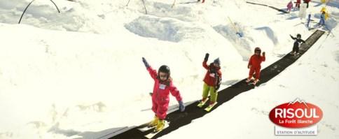 Skier en famille à Risoul