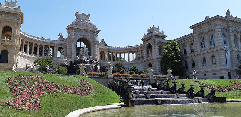 Jardins du Palais Longchamp à Marseille