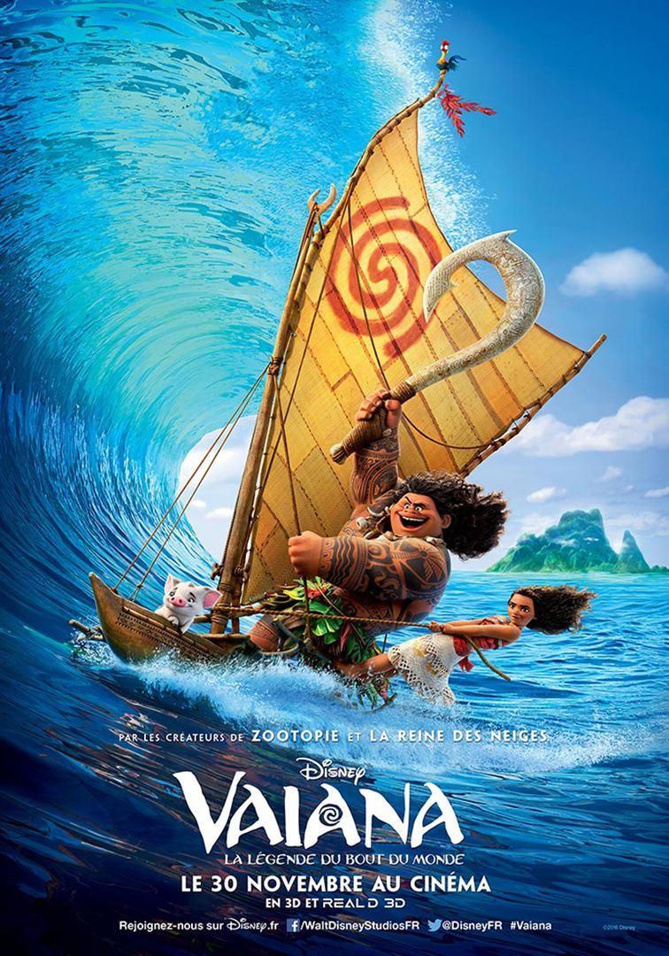 Vaiana diffusé cet été à la Buzine