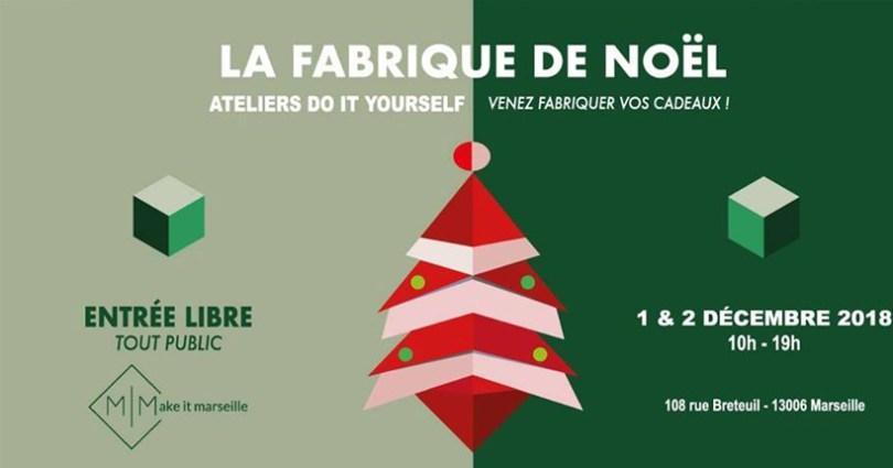 Fabrique de Noël à Marseille