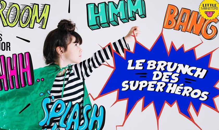 Brunch des Super Héros