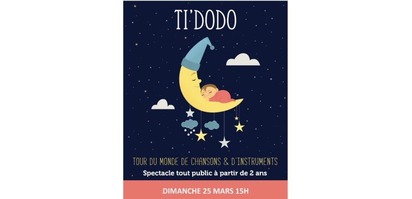 Ti Dodo, spectacle jeune public Aix en Provence