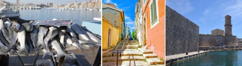 Visiter Marseille en Famille, vieux Port, Mucem, Panier
