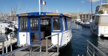 Circuler en bateau à Marseille