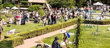 Journées des Plantes d'albertas en mai à Bouc bel Air