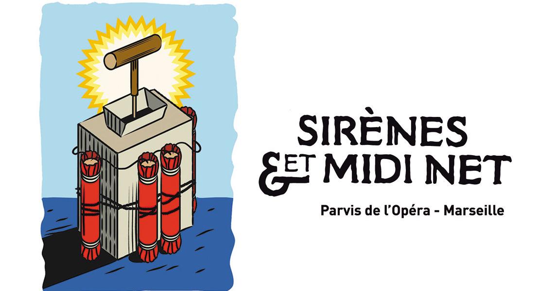 Sirenes et midi net