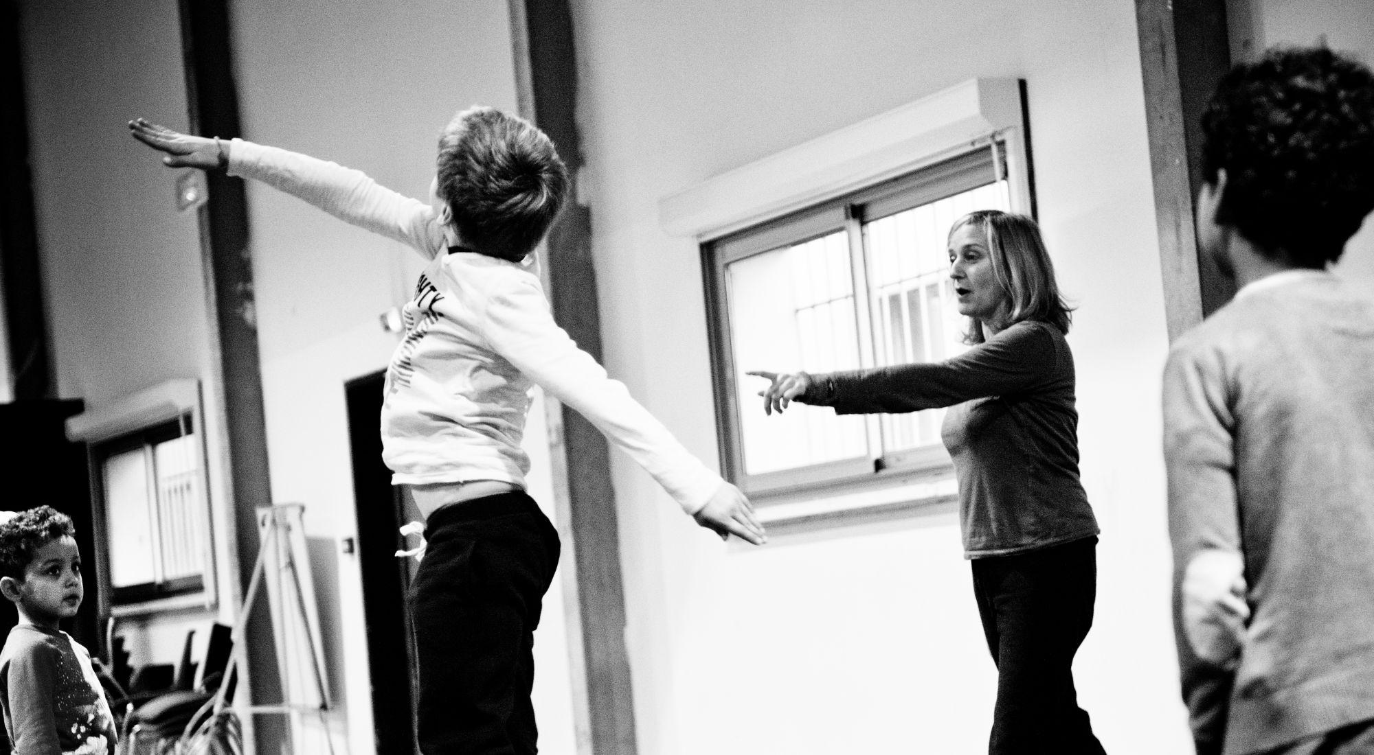 Atelier parents-enfants de danse contemporaine à la Friche