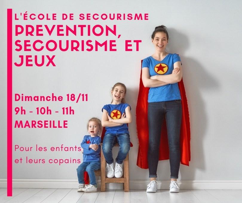 Prévention et Premiers secours des ateliers pour les enfants et les parents à Marseille