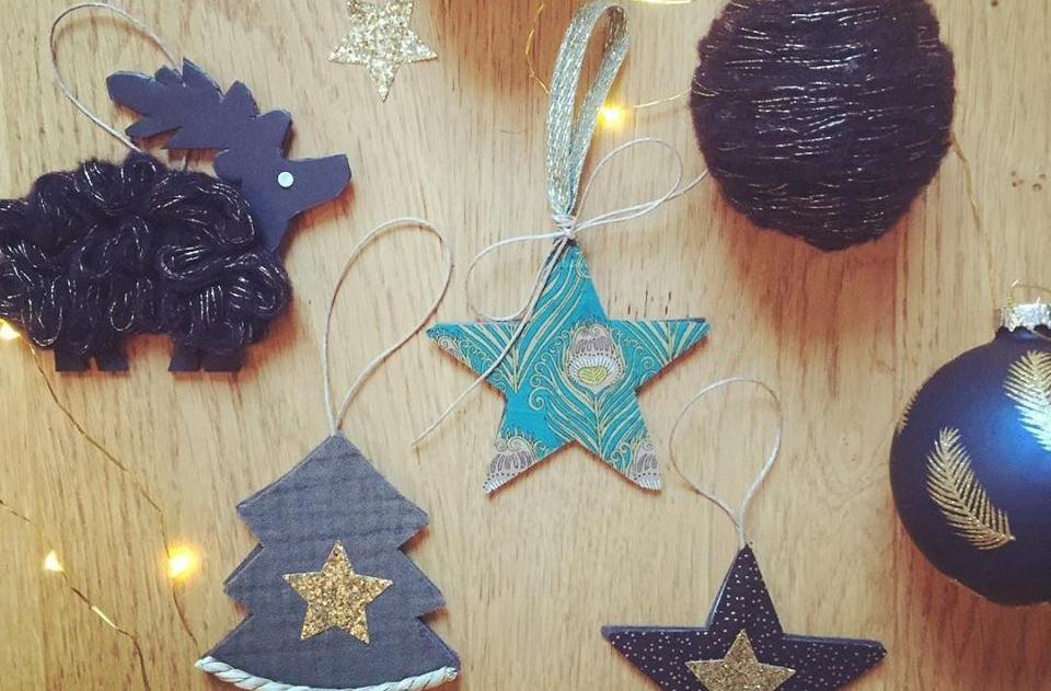 Atelier créatif spécial décoration de Noël