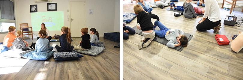 Ateliers premiers secours enfants