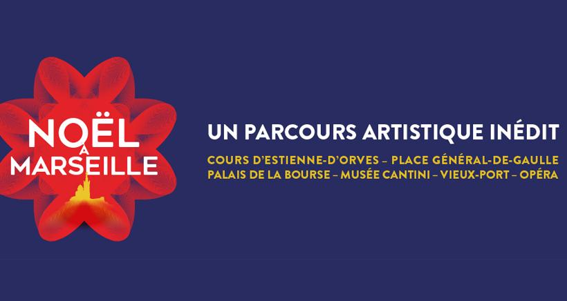 Noël à Marseille : un parcours artistique en lumière