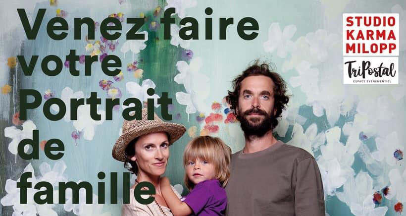 Portrait de famille by Karma Milopp