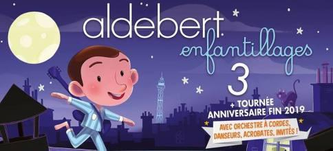 Alderbert Enfantillages 3 , concert anniversaire