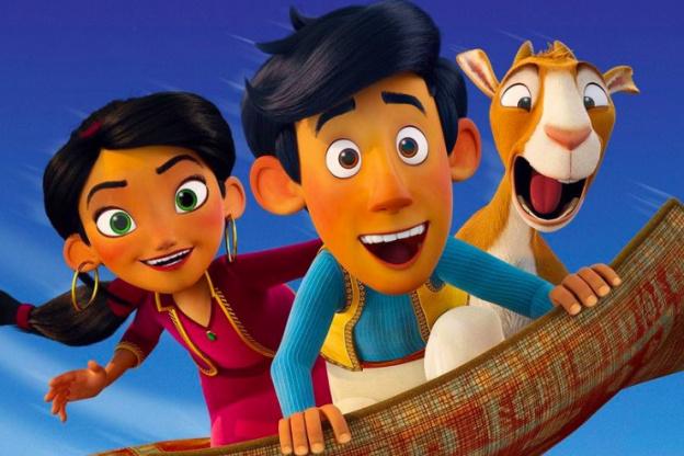 Amir et Mina. Les aventures du tapis volant