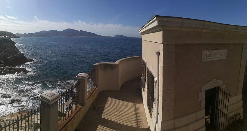 Visite gratuite marégraphe Marseille