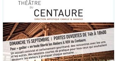Portes ouvertes théâtre du centaure