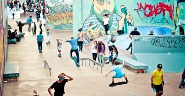 Skate park de la Friche la Belle de Mai