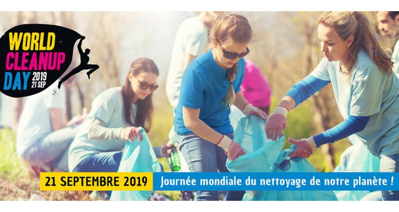 World Clean up Day à Marseille