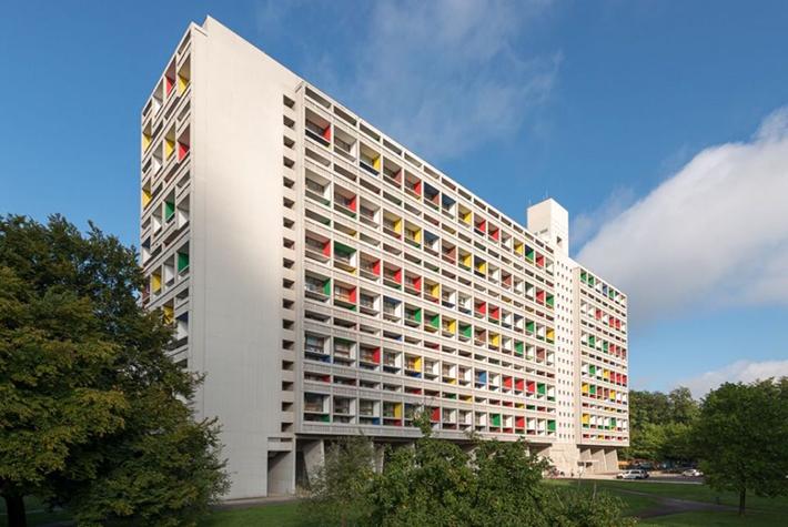 Une après-midi au Corbusier Cité radieuse avec Laterna Magica