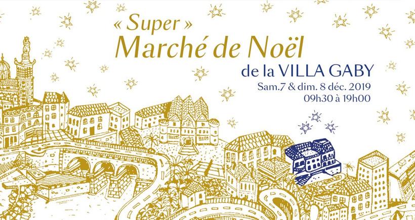 Marché de Noël à la Villa Gaby
