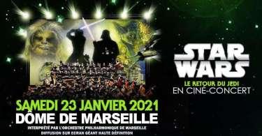 Star Wars ciné- concert -Le retour du Jedi à Marseille